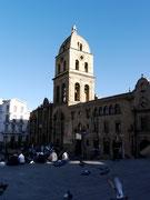 Basilica de San Francisco La Paz, Bolivia