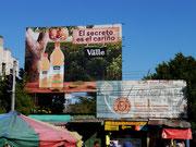 on the streets in San Salvador, El Salvador