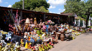street market in Aregua, Paraguay