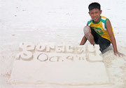 Boracay, Oct 9 2011 created by this young man