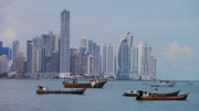 Panama City Skyline OR is it Miami, FL, USA? No doubt about it that it is very impressive albeit not very colonial!