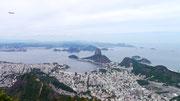 view from Cristo Redentor, Rio de Janeiro, Brazil