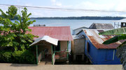 view from our hostel on Bastimentos, Bocas del Toro, Panama