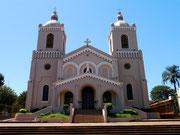 Church in Encarnacion, Paraguay
