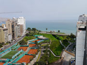 view from apartment in Miraflores, Lima!