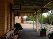 Gundagai Train Station, New South Wales, Australia