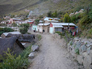 piqueno pueblo on the Colca Canyon trek