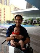 surprise visit by Juan Mestas of Kuala Lumpur (ex New York)