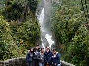 Cascada Pailon del Diablo, Banos, Ecuador