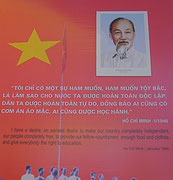 Ho Chi Minh's statement to a nation
