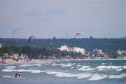 Kite Surfing at Mui Ne Beach, Vietnam