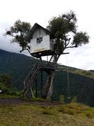 La Casa de Arbol, Banos, Ecuador