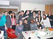 Guatemala City, Guatemala - house party at the apartment of CSer, Majo Aguilar! (Dec 2012)