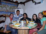 with our amazing couchsurfing hosts Ivan & Priscilla - Esteli, Nicaragua