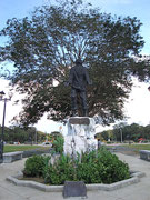 Jose Rizal Park and the monument of the man himself