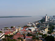 view from the lighthouse at Cerro Santa Ana, Guayaquil, Ecuador