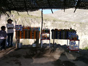una tienda on the Colca Canyon trek