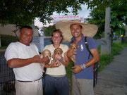 meeting David's friend the dog seller, Wilfredo de Managua - Managua, Nicaragua