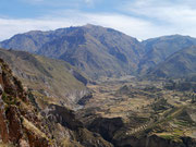 Colca Canyon (near Arequipa), Peru - the world's deepest canyon at more than twice the depth of the Grand Canyon in the USA (13,650 ft (4,160 m))
