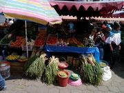 The famous Saturday market in Otavalo, Ecuador