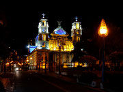 Iglesia in Otavalo, Ecuador