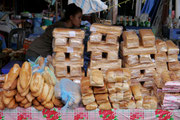 visiting the markets in Pakse, Laos