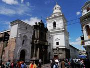 Iglesia San Agustin, Quito, Ecuador