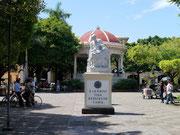 Main plaza in Granada, Nicaragua