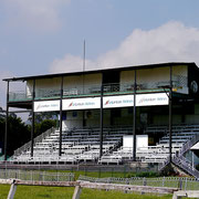 Sri Lanka Turf Club grandstand and stables