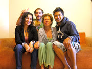 Quito, Ecuador with our CS host Gabriel and her boyfriend Remy from France (Aug 2012)