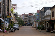 on the streets in Pakse, Laos