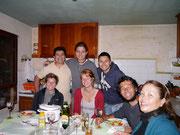 Deborah, Gustavo, Pablo, Flurina, Dean, Ivan & Monika (CS Hosts) Cochabamba, Bolivia