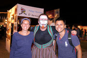Uruguayan Carnaval - picture with a famous Uruguay Murgas dude!