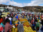 Zumbahua Saturday market, Ecuador