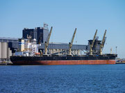 the biggest coal export port in the world - Newcastle, New South Wales, Australia