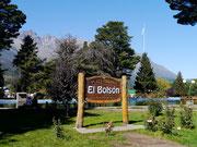 main square in El Bolson, Argentina