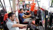 F1 simulator at Menara