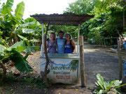 ...the three of us on Isla Ometepe, Nicaragua