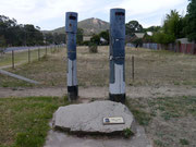 the spot where Ned Kelly was shot and died!