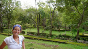 the beautiful grounds and gardens of the ancient city of Anuradhapura