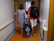 Leaving the Hospital to go home with Mummy & Daddy - Day 3 (23.07.13)