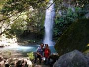 Una muy bonita cascada in Rincon de la Vieja, Guanacaste, Costa Rica