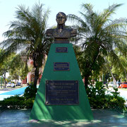 Simon Bolivar infront of the Cabildo, Asuncion, Paraguay