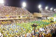 Sambodromo, Rio de Janeiro, Brazil