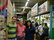 Guatemala City, Guatemala - hanging out with CSer, Flor Ambrosio, in the city centre (Dec 2012)