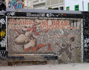 Lapa by day, Rio de Janeiro, Brazil - street art on show!