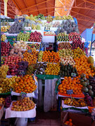 Fruit and Vegetables at the Central Mercado, Arequipa, Peru