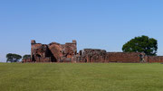 Trinidad, Jesuit Settlements in Paraguay. A UNESCO World Heritage Site and we were the only ones there!