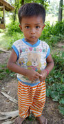 young Khmer boy posing for photo...