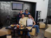 CouchSurfing with Edgar in Nazca, Peru (plus other CSer Pello from Bilbao, Spain) (Jul 2012)